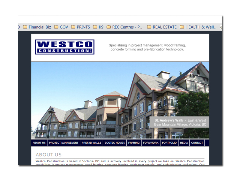 ricardo_ordonez_westco_construction_website